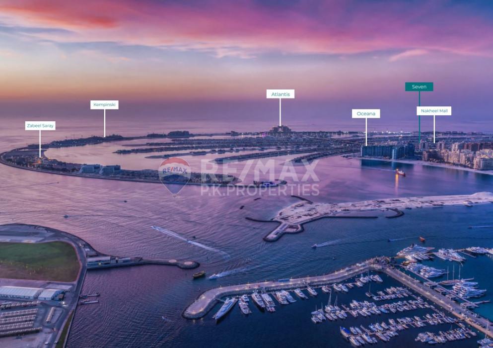 , Seven Palm, Palm Jumeirah, Dubai