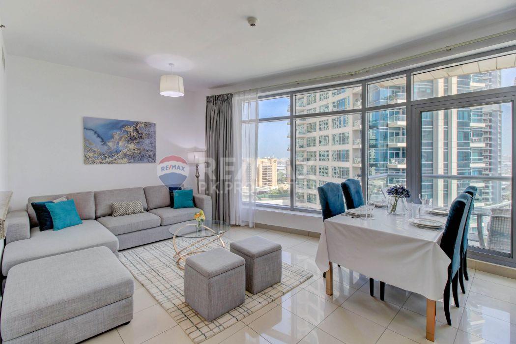 Exclusive Furnished 2 Bedroom | Full Marina View - Bonaire Tower, Park Island, Dubai Marina, Dubai
