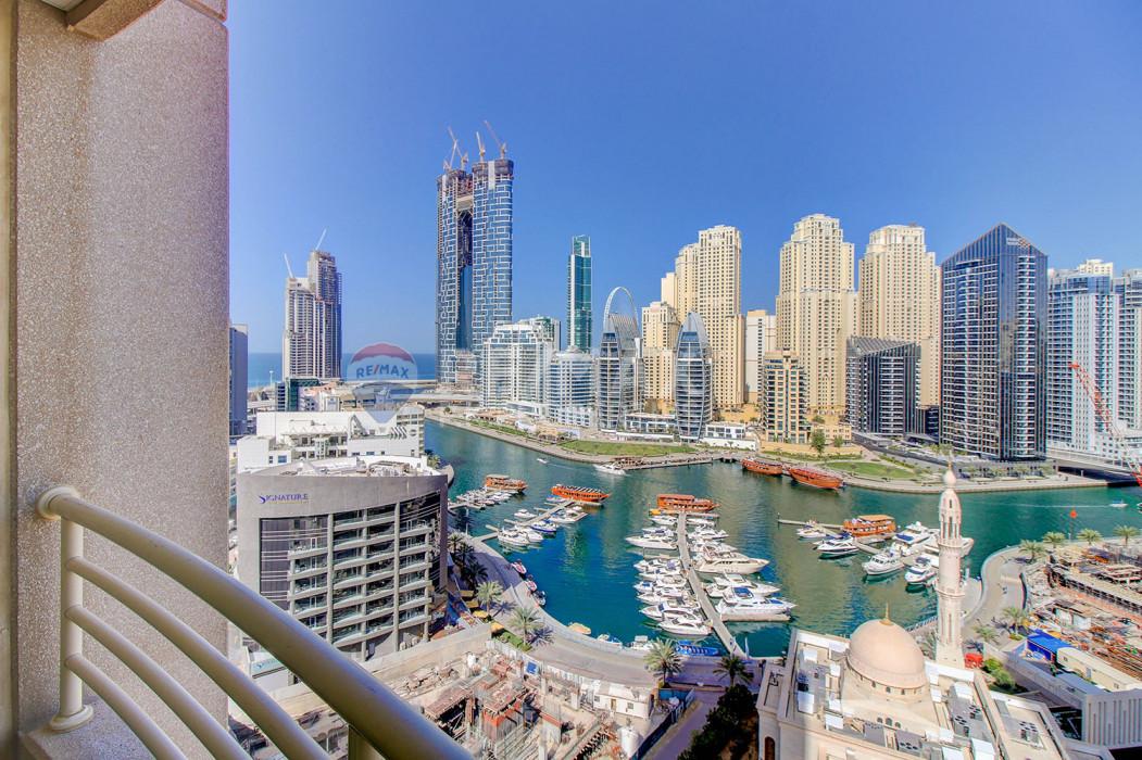 Fabulous Location   Furnished 1 Bed    Manchester - Manchester Tower, Dubai Marina, Dubai