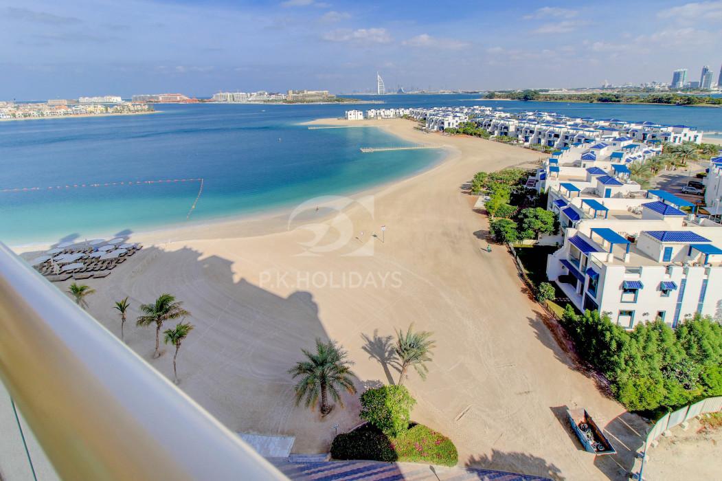 Spacious 1 Bed with Open sea views & Free RIVA Access, Al Haseer, Shoreline Apartments, Palm Jumeirah, Dubai