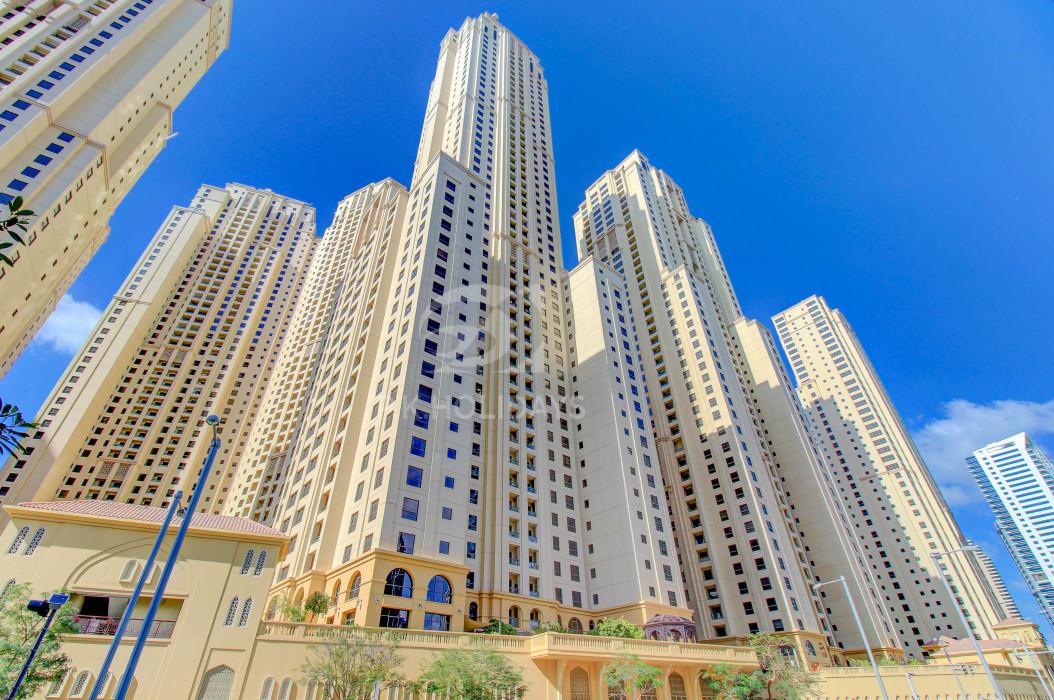 Spacious 1 Bed in Murjan JBR with Partial Sea Views, Murjan 1, Murjan, Jumeirah Beach Residence, Dubai