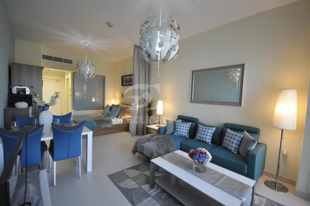 Upgraded   Studio Apartment   Palm Views East, Palm Views East, Palm Views, Palm Jumeirah, Dubai
