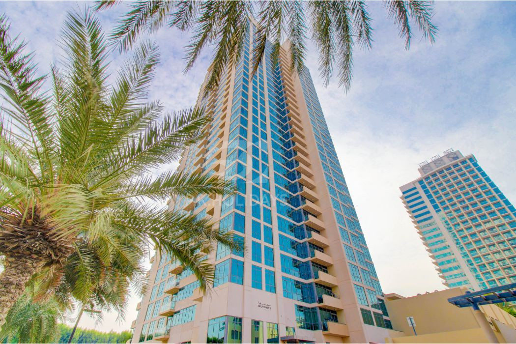 Upgraded 1 Bed Apartment |  Full Golf Course View, Golf Tower 2, Golf Towers, The Views, Dubai
