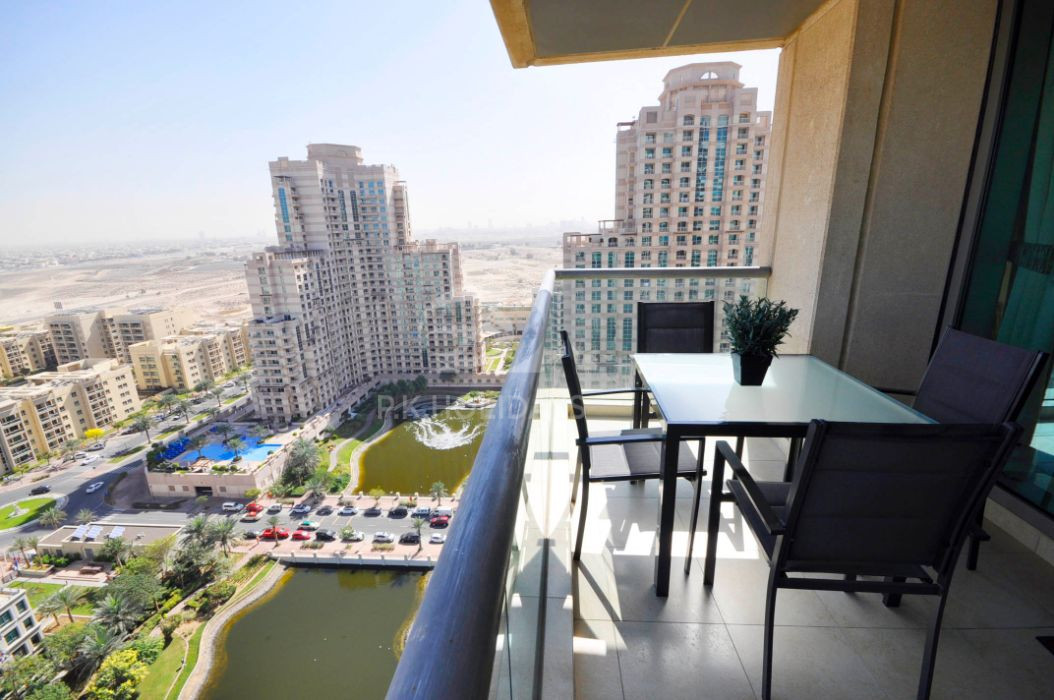 1 Bed+Study -Very Spacious -Lake & Golf Course View, The Fairways North, The Fairways, The Views, Dubai