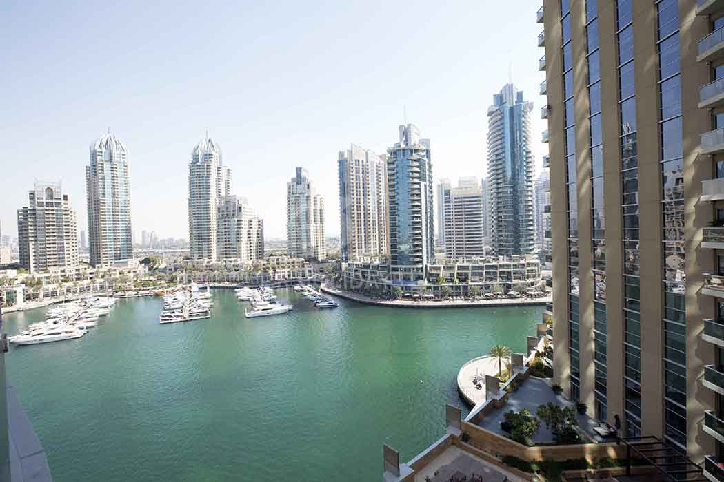 Elegantly Furnished | Spacious 2 Bedroom | Marina Terrace, Marina Terrace, Dubai Marina, Dubai