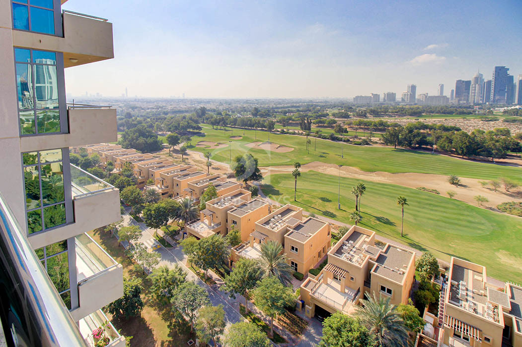 Newly Listed - Full Golf Course View  1 Bed Apt, Golf Tower 2, Golf Towers, The Views, Dubai