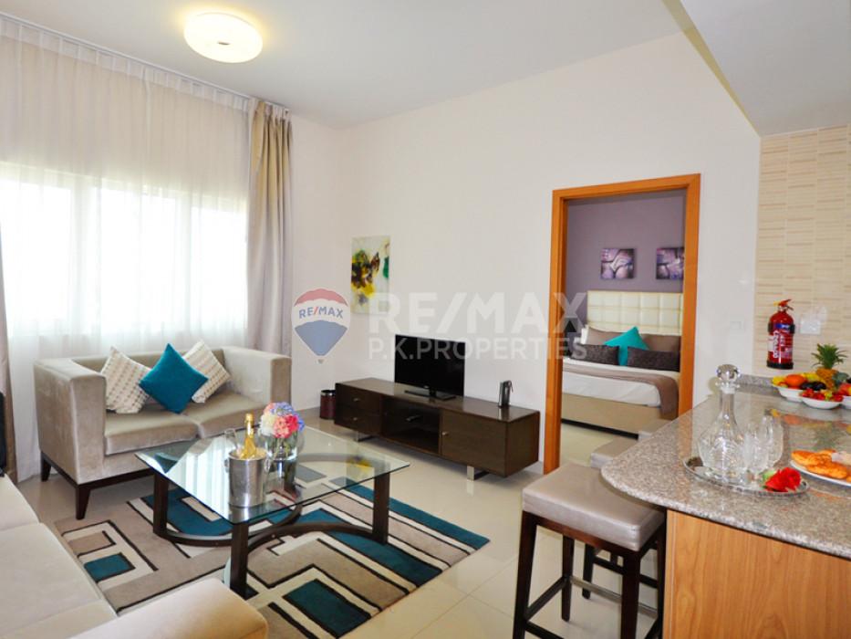 Furnished 1 Bed  | DAMAC Suburbia | Downtown Jebel Ali - Suburbia Tower 2, Suburbia, Downtown Jebel Ali, Dubai