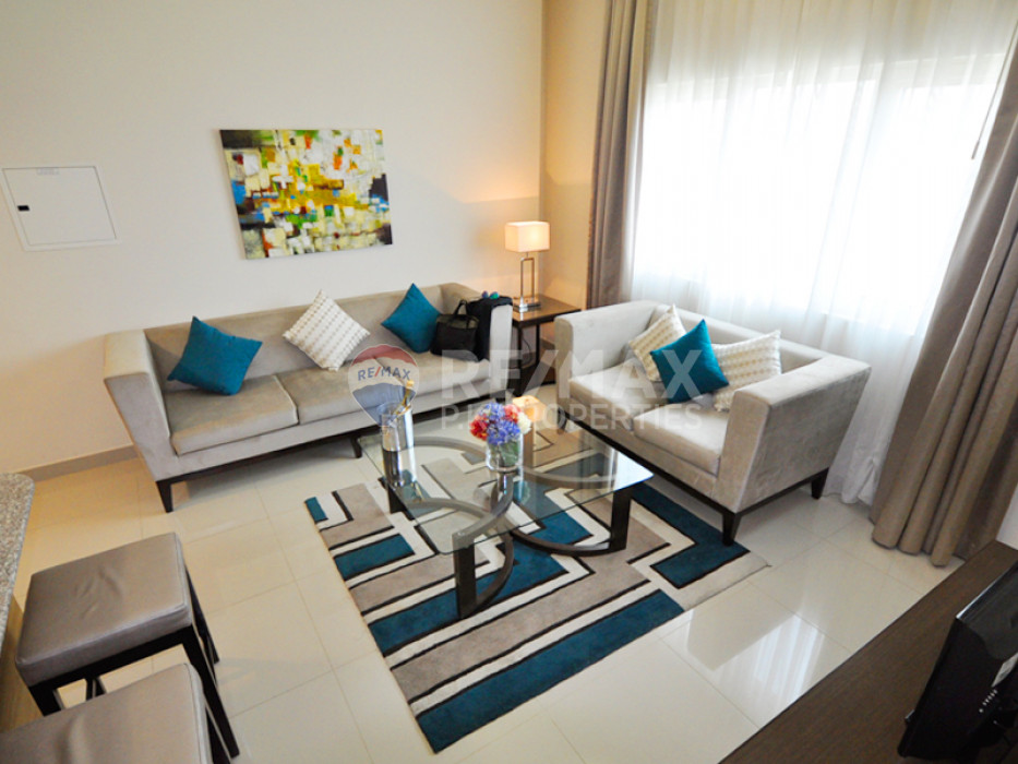 Vacant | Furnished 1 Bed | 2 mins Metro | Suburbia - Suburbia Tower 2, Suburbia, Downtown Jebel Ali, Dubai