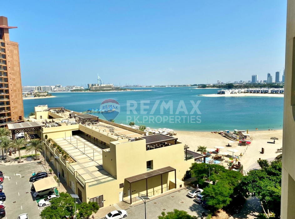 Vacant D Type | Shoreline | 2 Bedroom Furnished - Al Das, Shoreline Apartments, Palm Jumeirah, Dubai