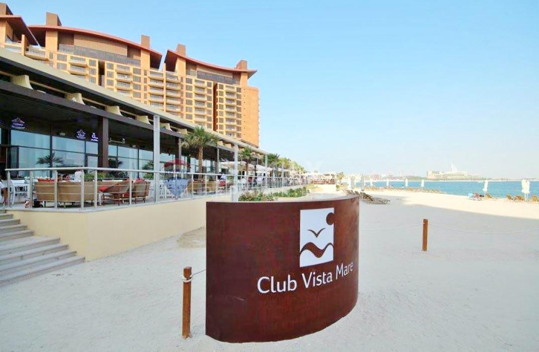 Fully Furnished 1 Bedroom | Sea View|Shoreline Apt - Al Msalli, Shoreline Apartments, Palm Jumeirah, Dubai