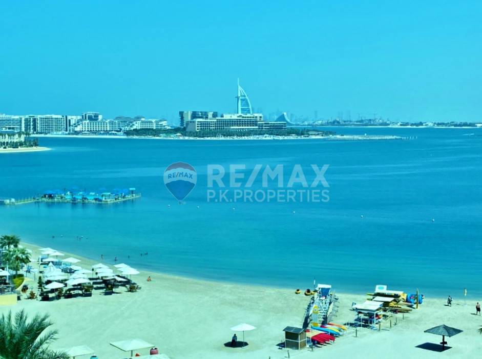 Vacant A Type | Sea View | Shoreline | Furnished - Al Das, Shoreline Apartments, Palm Jumeirah, Dubai