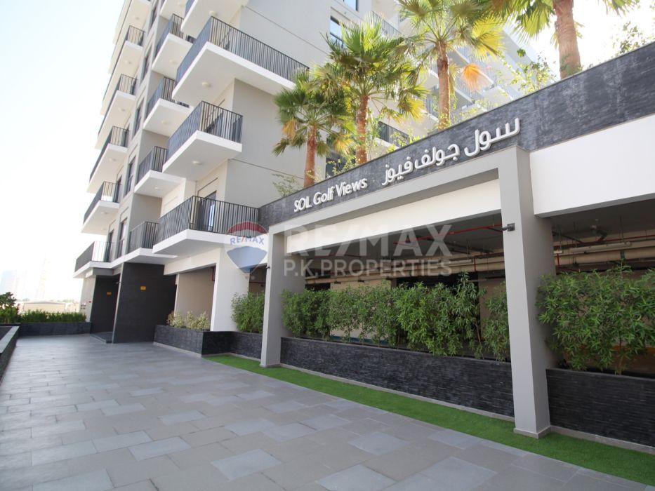 Large Balcony | Spacious | Golf Course View - SOL Golf Views, Dubai Production City (IMPZ), Dubai