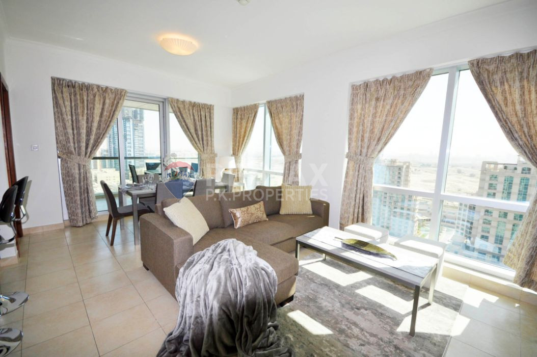 Fully Furnished 2 Bed | Lake and Golf Course View - The Fairways North, The Fairways, The Views, Dubai