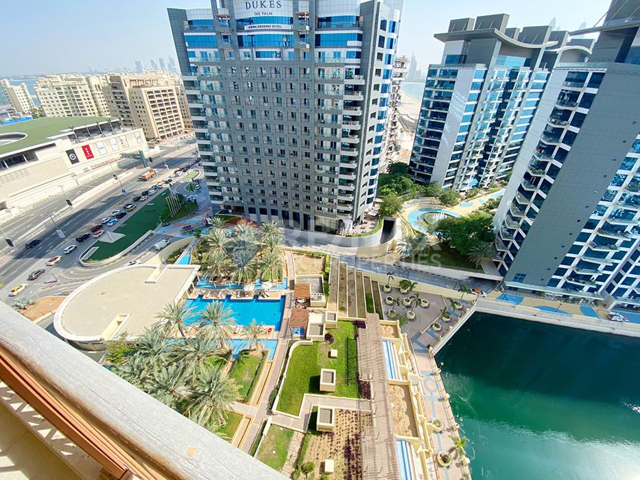 Fully Furnished 4 Bedroom Penthouse | Vacant | - Marina Residences 1, Marina Residences, Palm Jumeirah, Dubai