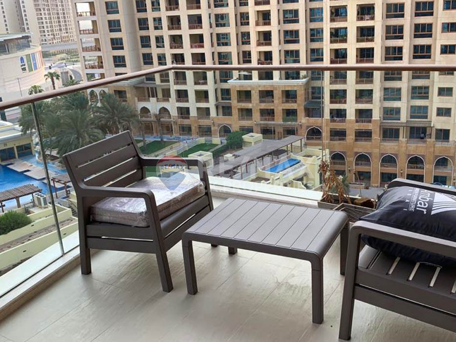 Exclusive 3 Bedroom | Vacant | Fully Furnished - Emerald, Tiara Residences, Palm Jumeirah, Dubai