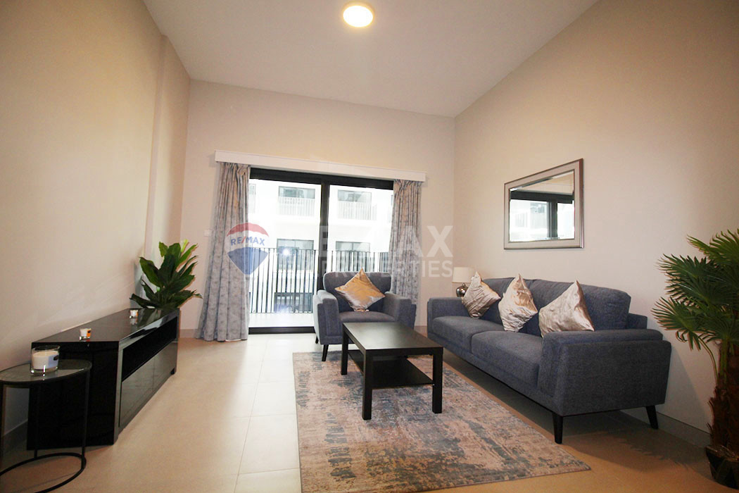 12 Cheques | Fully Furnished | All Bills Included - SOL Golf Views, Dubai Production City (IMPZ), Dubai