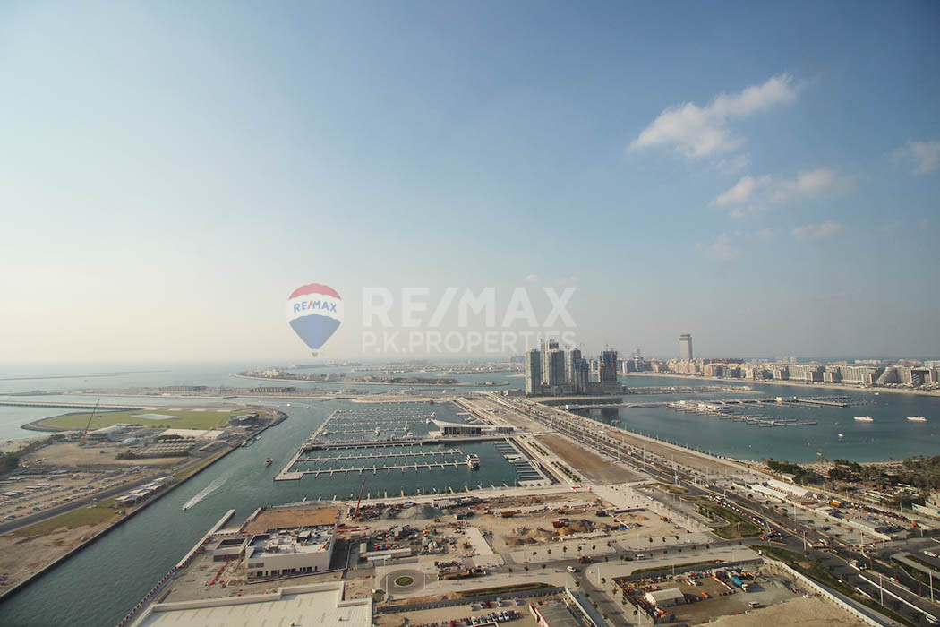 Furnished 2 Beds | Palm Views | Avail Now - Damac Heights, Dubai Marina, Dubai