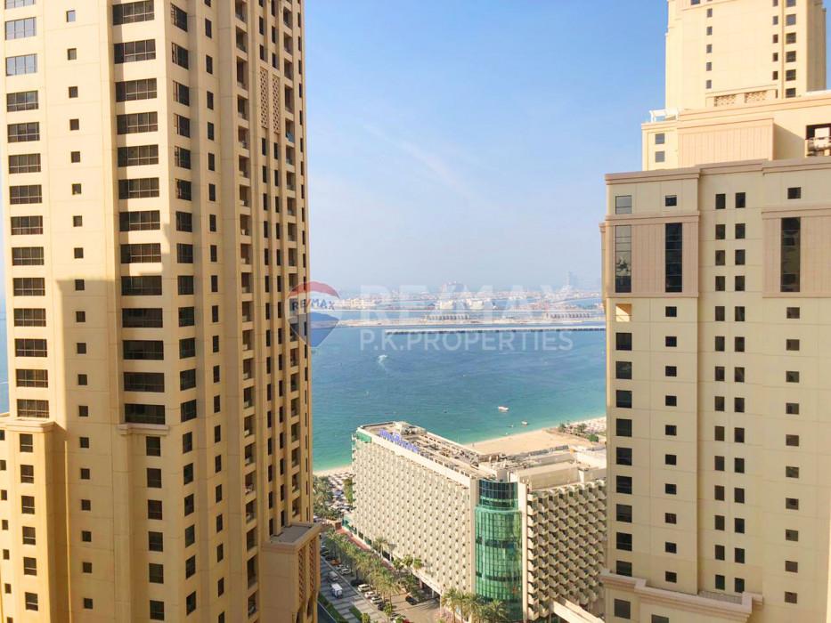 2 bedroom I Sea View I High Floor I End Of Jan - Rimal 1, Rimal, Jumeirah Beach Residence, Dubai