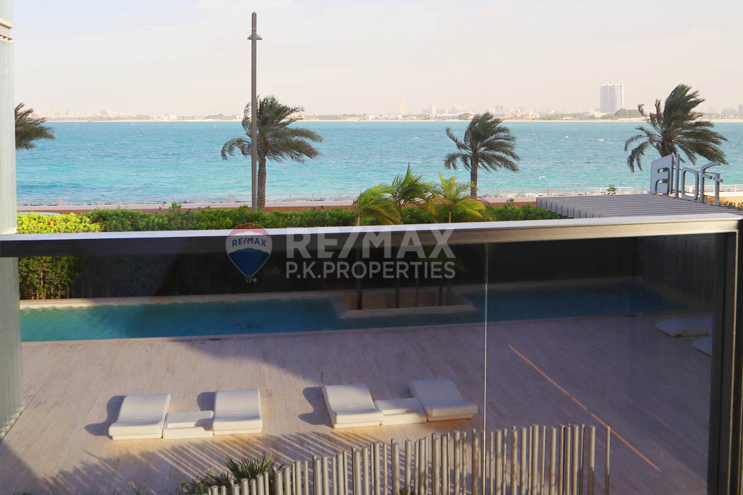 Negotiable I Furnished I 2 plus Maids I Seaview - Muraba Residence, The Crescent, Palm Jumeirah, Dubai