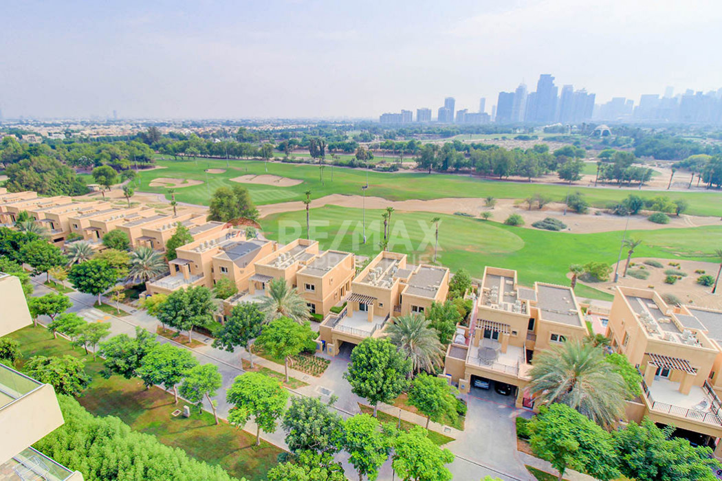 Furnished | Vacant | Full Golf Course View - Golf Tower 2, Golf Towers, The Views, Dubai