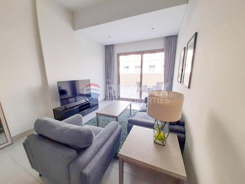 12 Cheques |Large terrace | Bills included | 1 Bed - The Wings, Arjan, Dubai