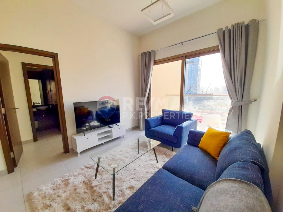 12 cheques | Fully furnished | Bills included | 1 bed - The Wings, Arjan, Dubai