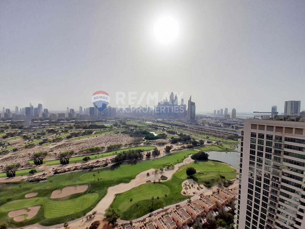 Beautiful 2 bedrooms in Links | Golf Course View - The Links West Tower, The Links, The Views, Dubai