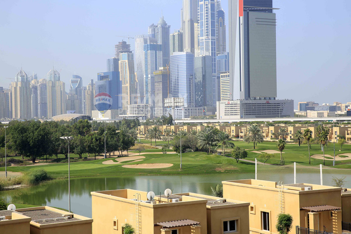 Golf Course View   Fully Furnished   Chiller Free - Golf Tower 1, Golf Towers, The Views, Dubai