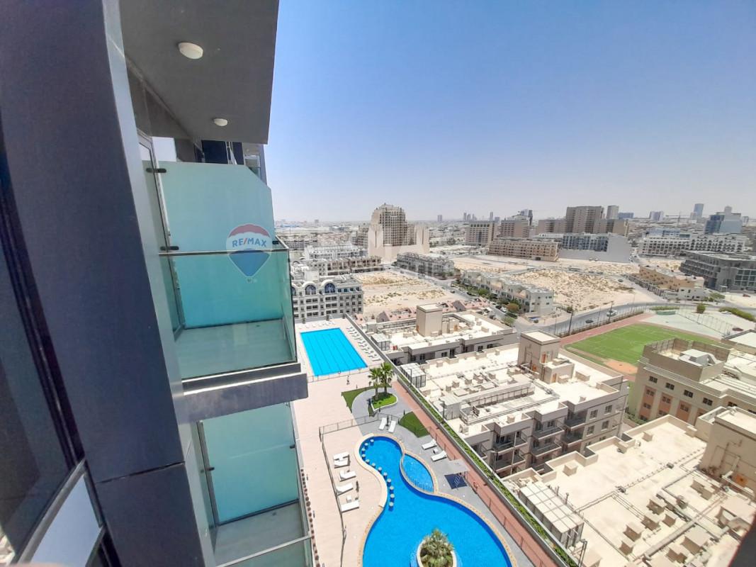 12 cheques   Closed kitchen   Brand new - Bloom Towers, Jumeirah Village Circle, Dubai