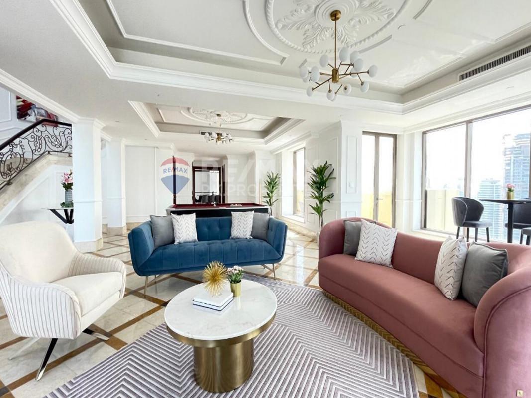Luxurious 4 bed + maids Penthouse| Full Sea View - Rimal 3, Rimal, Jumeirah Beach Residence, Dubai