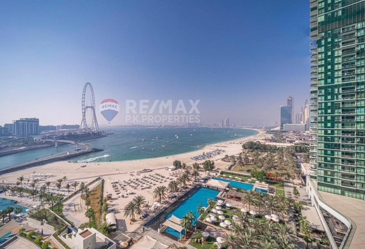 Sea View | 2Bed | Beach living - The Address Jumeirah Resort and Spa, Jumeirah Beach Residence, Dubai