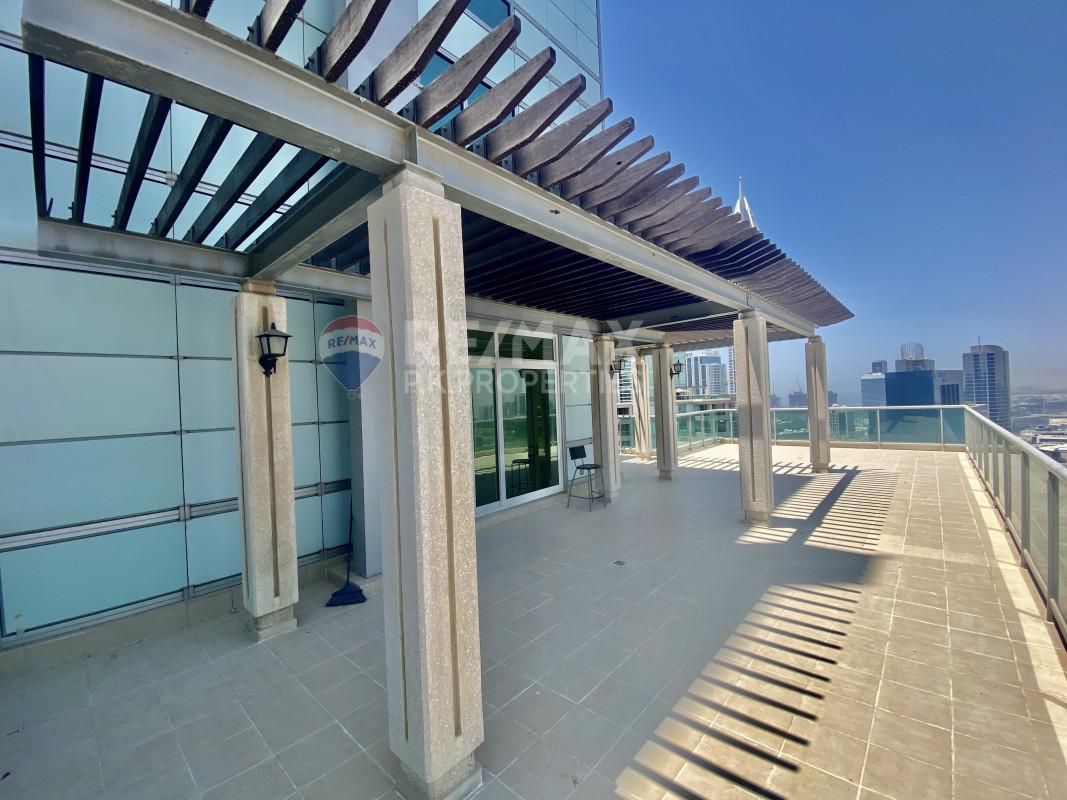 Elegant | Huge Terrace | Duplex | 3 Beds - Al Mesk Tower, Emaar 6 Towers, Dubai Marina, Dubai