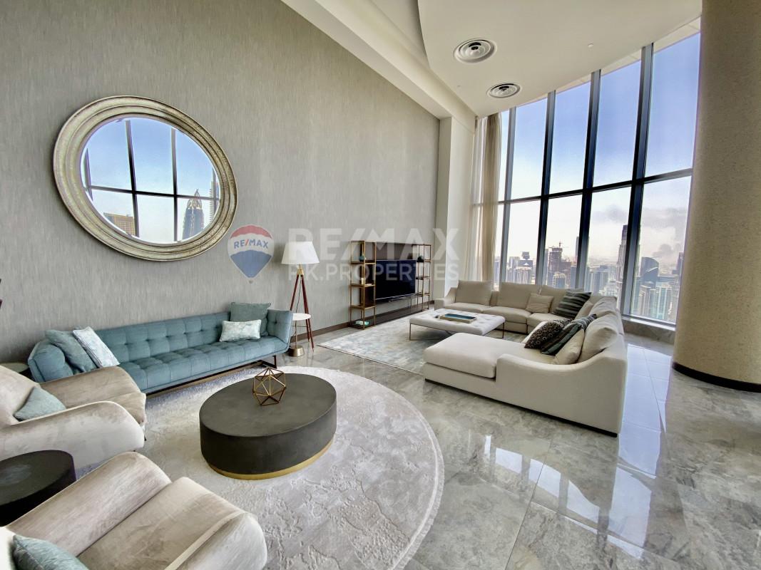 Full Burj View And fountain | 4 BR + maids - The Address Dubai Mall, Downtown Dubai, Dubai