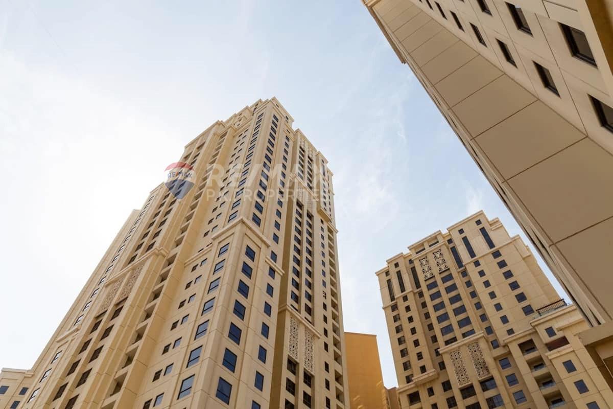2Bed | Ready July 1st | Unfurnished - Bahar 1, Bahar, Jumeirah Beach Residence, Dubai