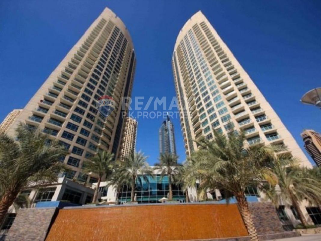 Marina view   2BED   Available Now - Fairfield Tower, Park Island, Dubai Marina, Dubai