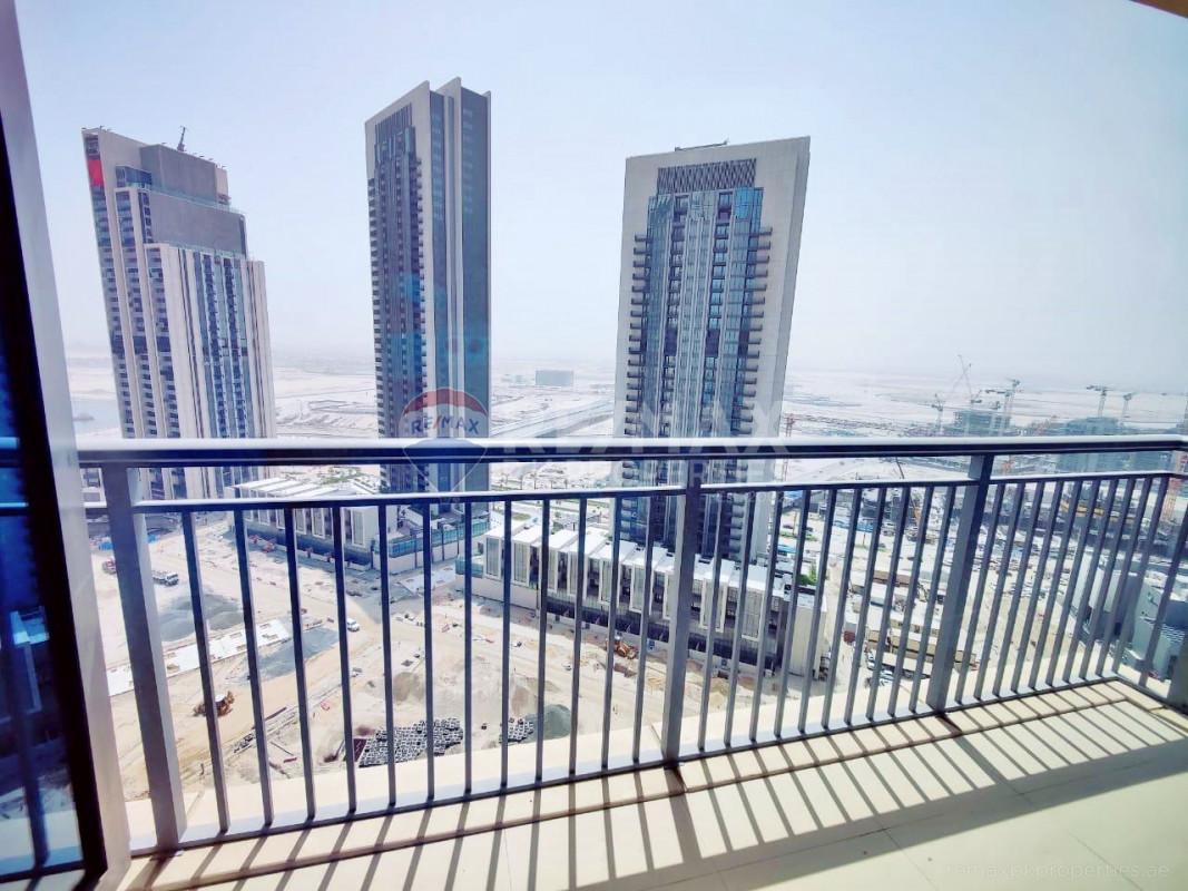 High Floor | Nice View | Available Now - Harbour Views 2, Dubai Creek Harbour (The Lagoons), Dubai