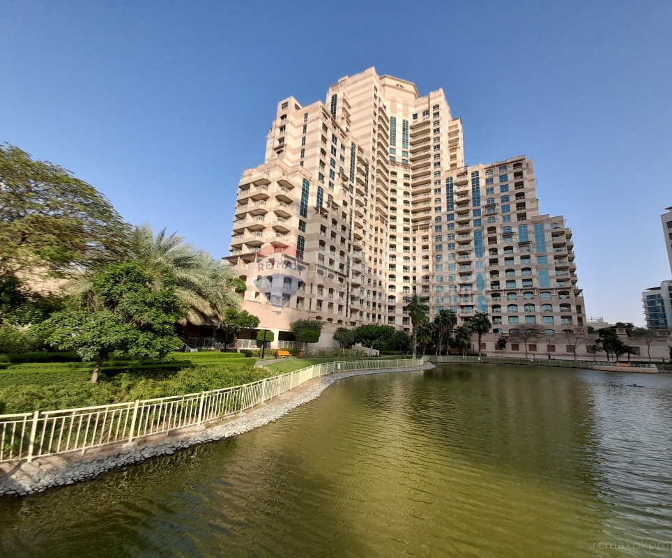 Bright Furnished 2 BR in Mosela | Overlooking Lake - Mosela Waterside Residences, Mosela, The Views, Dubai