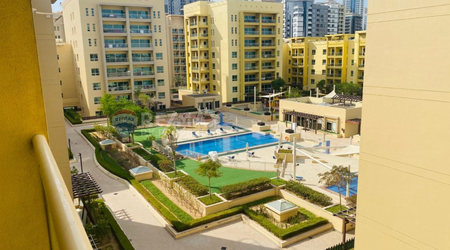 Available September | Pool View | Well Maintained - Al Alka 3, Al Alka, Greens, Dubai