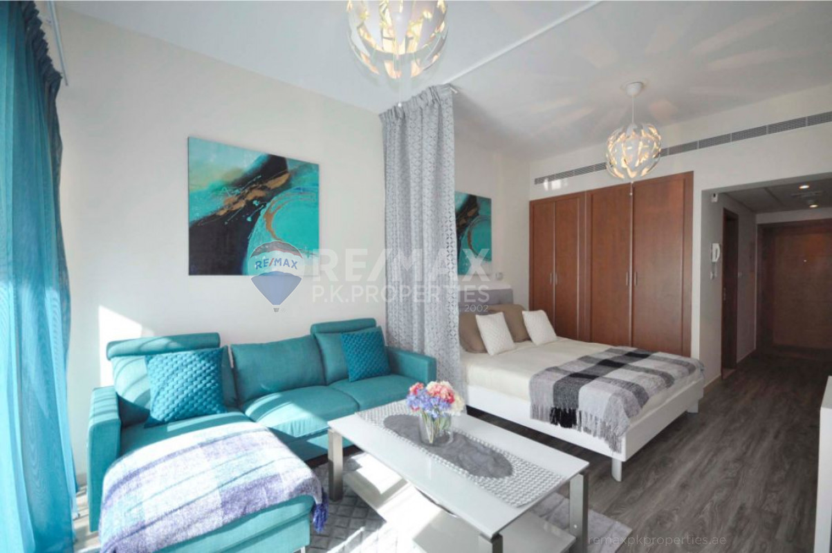 Exclusive Listing |Fully Furnished|Well Maintained - Al Dhafra 4, Al Dhafra, Greens, Dubai