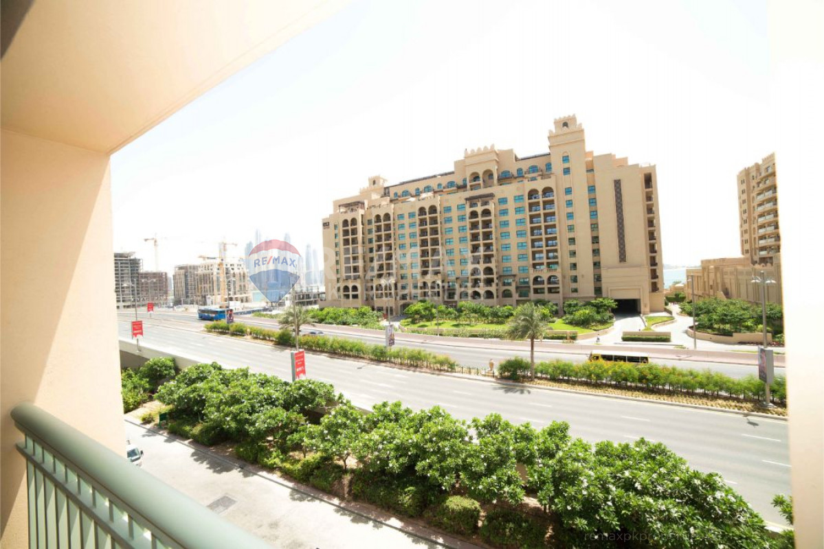 Beach & Pool Included | Beautifully Furnished - Golden Mile 7, Golden Mile, Palm Jumeirah, Dubai