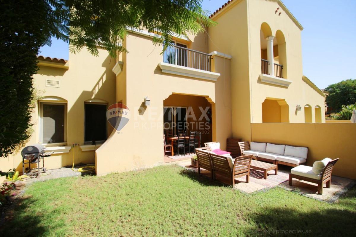 Single Row | Well Maintained | Facing Park - Palmera 4, Palmera, Arabian Ranches, Dubai