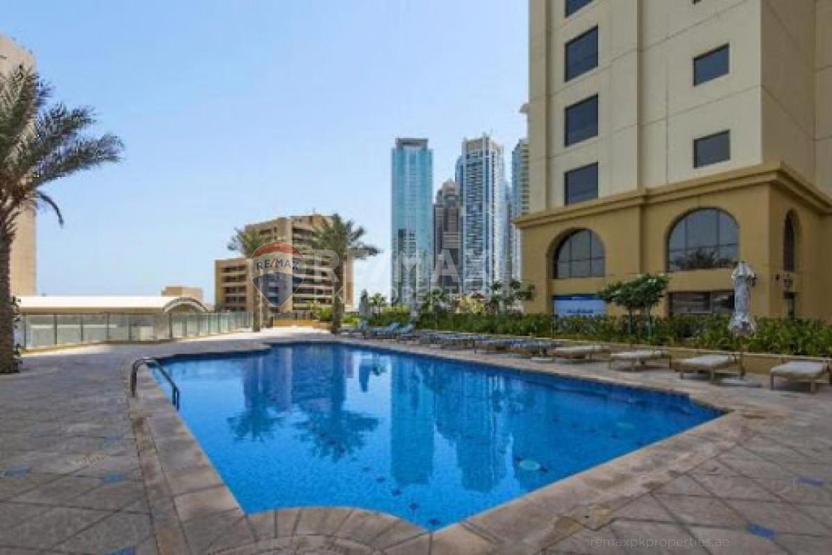 Spacious 1 Bed in Murjan 1| Unfurnished| Vacant soon - Murjan 1, Murjan, Jumeirah Beach Residence, Dubai