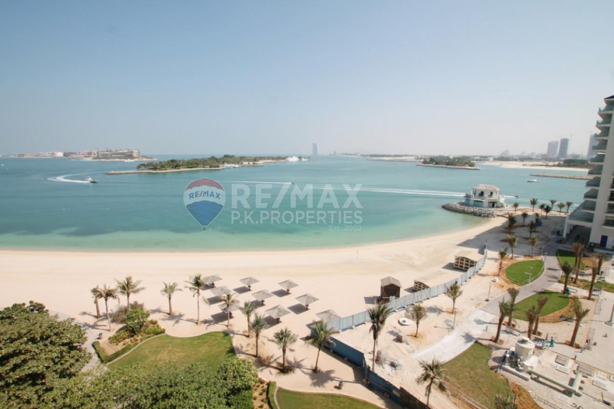 GORGEOUS SEA VIEW | AVAILABLE | MAIDS ROOM - Al Basri, Shoreline Apartments, Palm Jumeirah, Dubai