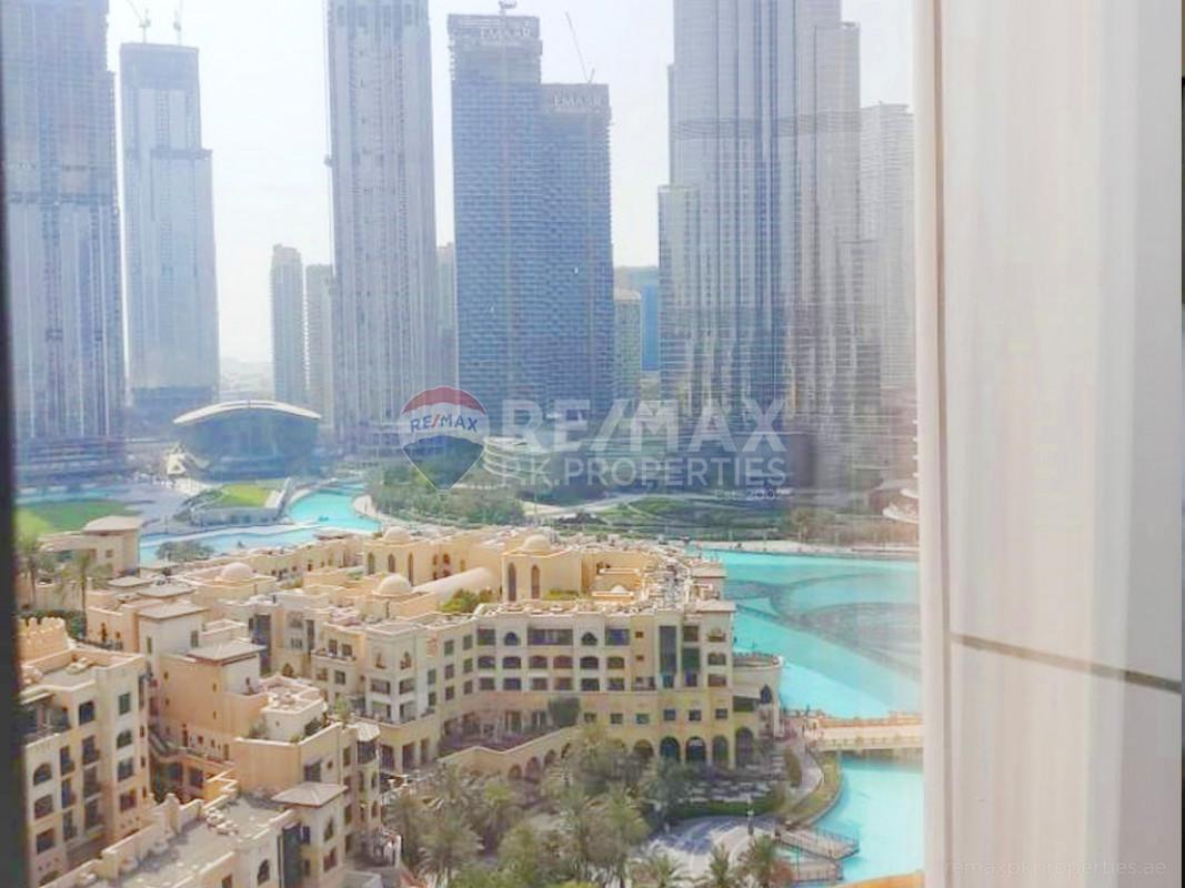 High Floor   Vacant   ALL BILL IN - The Address Downtown Hotel, Downtown Dubai, Dubai