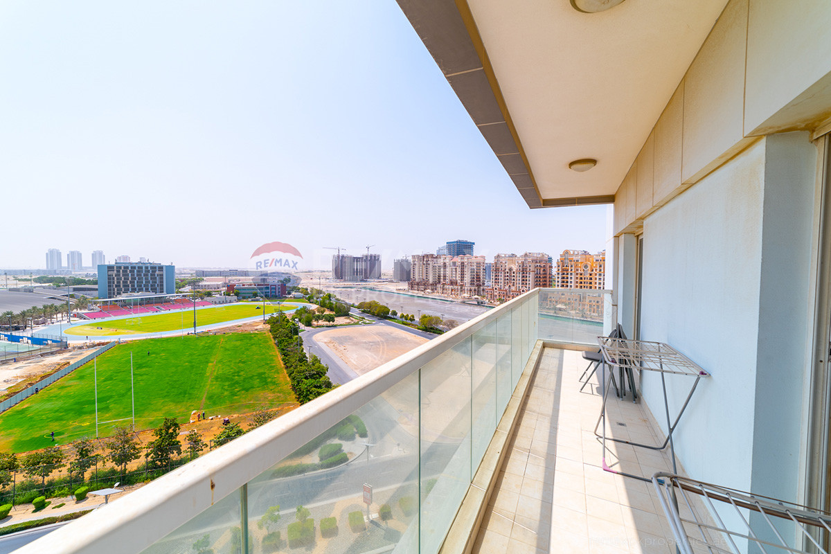 Include Bills Option | Fully Furnished | Vacant - Red Residency, Dubai Sports City, Dubai