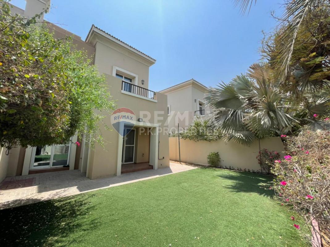 Single Row | 2 Beds + Study | Facing Park - Al Reem 3, Al Reem, Arabian Ranches, Dubai