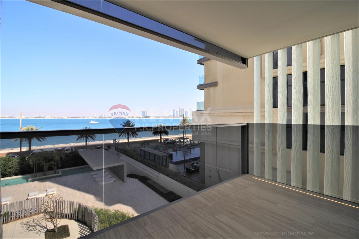 Sophisticated Serene Living   3 Beds   Seaview - Muraba Residence, The Crescent, Palm Jumeirah, Dubai