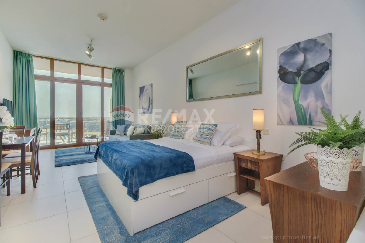 Fully furnished | Marina views | Stylish design - Palm Views West, Palm Views, Palm Jumeirah, Dubai