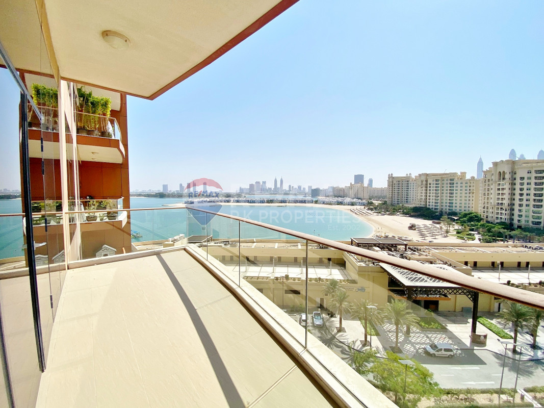 Beach | Hotel Facilities | Safe Family Environment - Sapphire, Tiara Residences, Palm Jumeirah, Dubai