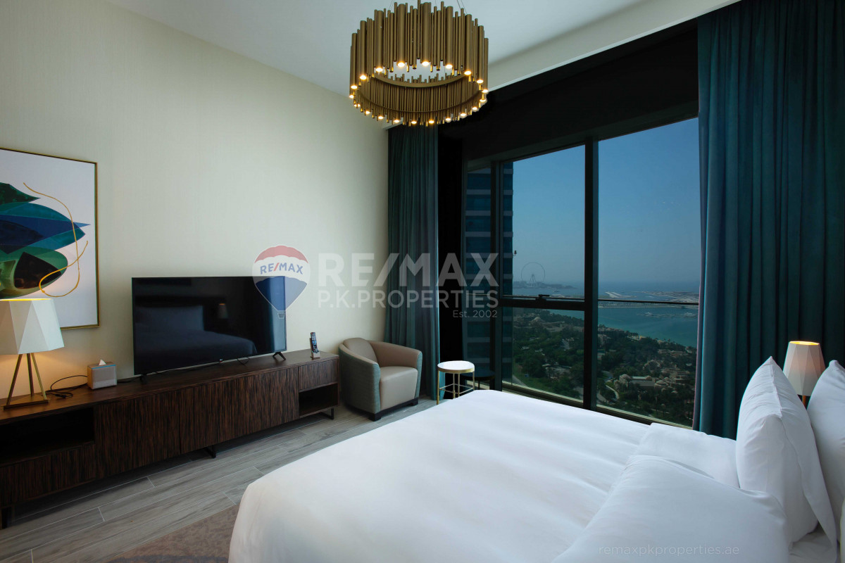 Large One Bed in Palm View| Furnished| Vacant - Avani Palm View Hotel & Suites, Dubai Media City, Dubai